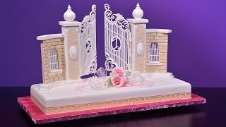 This is an overview to our 21st Birthday Gates Cake tutorial at Yeners Way. Please visit the link below to learn more about this tutorial.http://www.yenersway.com/tutorials/celebration-cakes/21st-birthday-gates-cake/