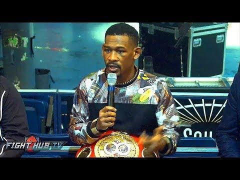 DANIEL JACOBS VS. SERGIY DEREVYANCHENKO - THE FULL POST FIGHT PRESS CONFERENCE - LIVE