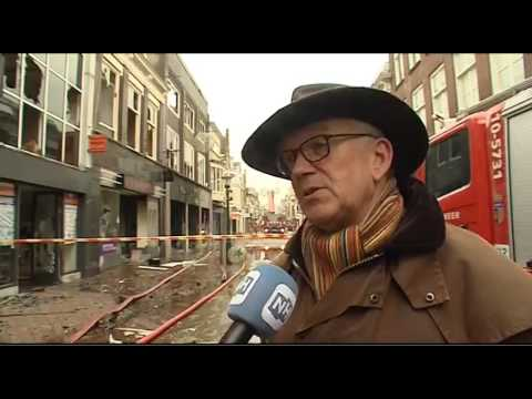 Grote brand in winkelcentrum Alkmaar