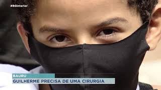 Bauru: família faz vaquinha  para que menino de 8 anos faça cirurgia