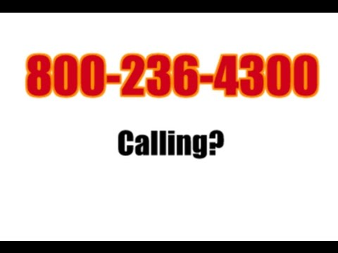 800-236-4300 KEEP CALLING? STOP IT WITH THIS