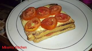 HOW TO TOAST TOMATO SANDWICH
