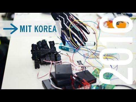 MIT Korea 2016: Creating Robotic Hands with Arduinos