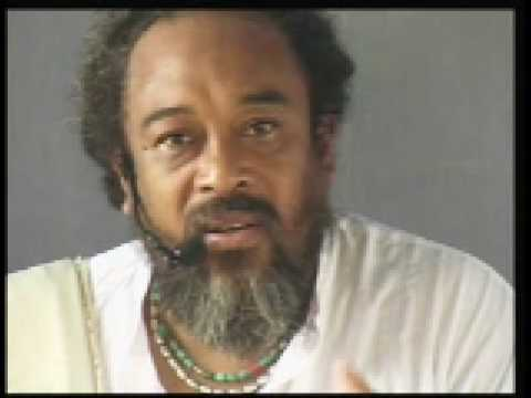 Mooji – Don't try to get rid of anything.
