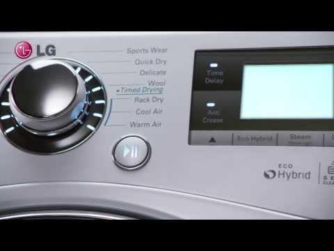 LG Eco Hybrid Dryer FULL