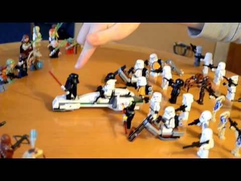 Лего самоделки звездные войны лего