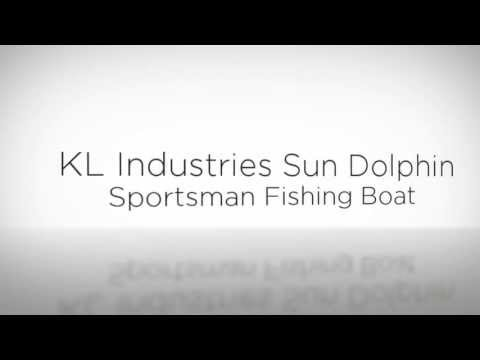 KL Industries Sun Dolphin Sportsman Fishing Boat - Best Fishing Goods