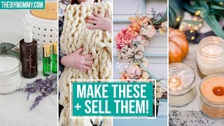 10 CRAFTS TO MAKE & SELL