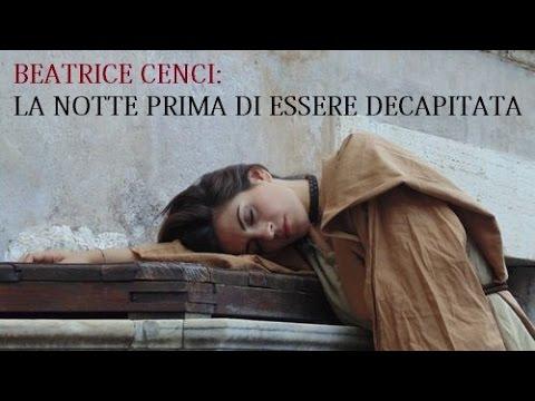 Beatrice Cenci: la notte prima di essere decapitata.