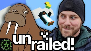 We Milk a Walrus - Unrailed! by Let's Play