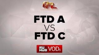 FTD vs FTD.C, game 1