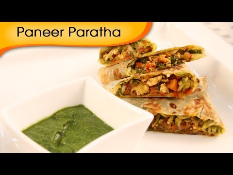Paneer Bhurji Paratha   Easy To Make Paratha Recipe   Ruchi Bharani