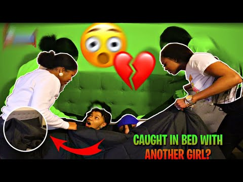 CAUGHT IN BED WITH ANOTHER GIRL PRANK *FT MACK&MIA* (GETS CRAZY)