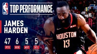 Download Video James Harden Drops 47 Points as Houston Takes Down Utah | December 17, 2018 MP3 3GP MP4