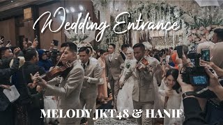 Video Wedding MELODY JKT48 & HANIF - Wedding Entrance by CIKALLIA MUSIC MP3, 3GP, MP4, WEBM, AVI, FLV Maret 2019