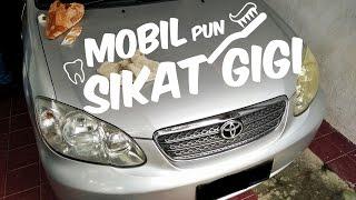 #5  MINGGU ISENG - Bersihkan Mika Lampu Mobil Yang Menguning #Vlog Tutorial