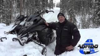 10. Motoneige: Yamaha Phazer et Nytro mountain 2014
