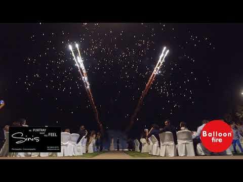 Πυροτεχνήματα Ρουκετάκια βεντάλιες Είσοδος γάμου / Επακρον