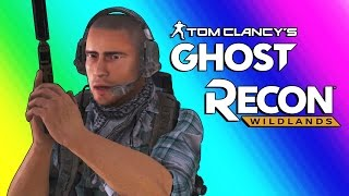 Ghost Recon Wildlands Gameplay - Llamas & Helicopters!