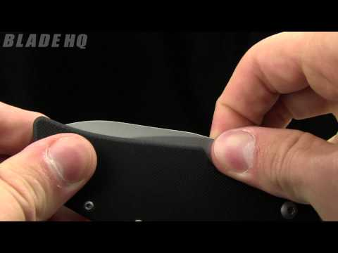 "Kershaw One Ton Frame Lock Knife (3.5"" Bead Blast) 1447"