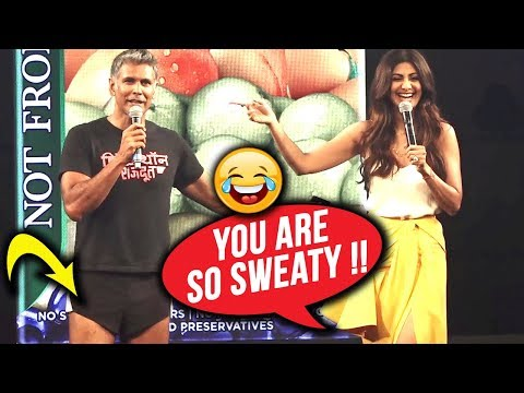 Milind Soman's DAMN FUNNY ENTRY Makes Shilpa Shett