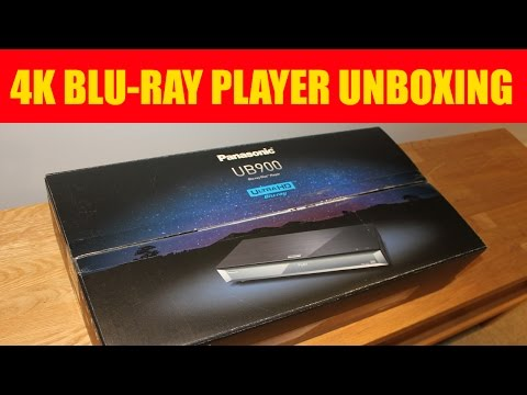 Panasonic DMP-UB900 4K UHD Blu-ray player UNBOXING