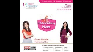 Tips Parenting Happy Parenting with Novita Tandry Episode 25: Multitasking Mom