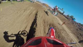 Frauenfeld Switzerland  City new picture : GoPro: Gautier Paulin FIM MXGP 2016 RD15 Frauenfeld, Switzerland Race 1 Lap 1
