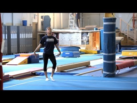 How to Do a Gymnastics Floor Routine | Gymnastics Lessons