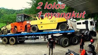Video 3 UNIT TRUCK TRAILER JADUL TENAGA MASIH JOSS MP3, 3GP, MP4, WEBM, AVI, FLV Maret 2019