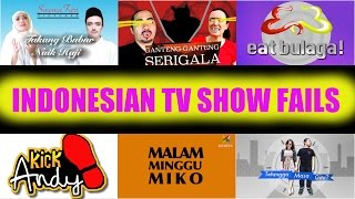 Indonesian TV Show Fails