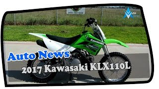8. NEWS UPDATE !!! 2017 Kawasaki KLX110L Price & Spec