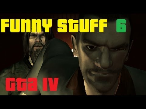 GTA 4 gameplay (19) Funny Stuff 6