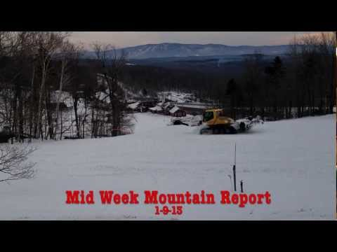 Bromley Mountain, Vermont - Snow Report 1/10/13