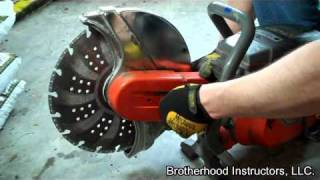 Power Saw: Outboard Blade Conversion