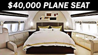 Video The Most Expensive First Class Airplane Seat MP3, 3GP, MP4, WEBM, AVI, FLV Februari 2019