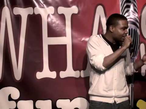 WHATS FUNNY The Agency Showcase - COMEDIAN CLARK JONES