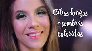 Beleza Express - Cílios longos e sombras coloridas