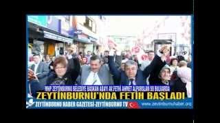MHP Zeytinburnu Belediye Başkan Adayı Av Fethi Ahmet Alparslan 58 Bulvarda Gövde Gösterisi Yaptı