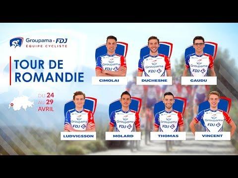Tour de Romandie 2018 : la bande-annonce de l'Équipe Groupama-FDJ