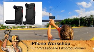 AIDA iPhone Workshop: Professionelle Fotos- und Filmproduktion mit dem Telefon
