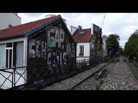 estación abandonada en la
