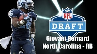 Highlights breaking down the strengths and weaknesses of North Carolina running back Giovani Bernard. Music: Ronald Jenkees ...