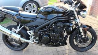 8. New ride in the garage- Speed Triple 955i