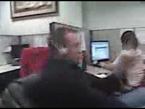 Mr. Office Chair Rodeo Cowboy