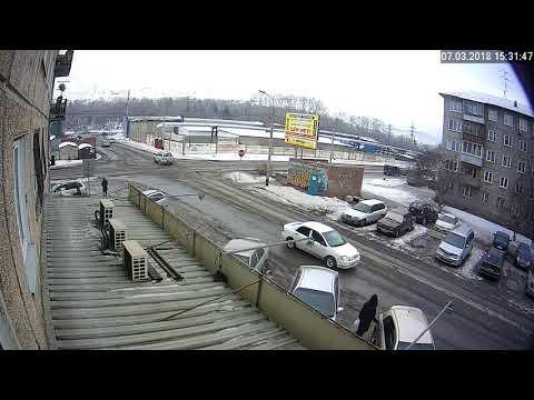 ДТП с пешеходом в Красноярске