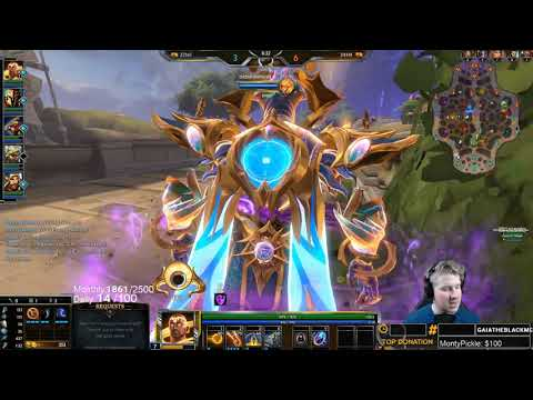 Smite: OLORUN ATTACK SPEED IN HIS ULT IS CRAZY!   Incon