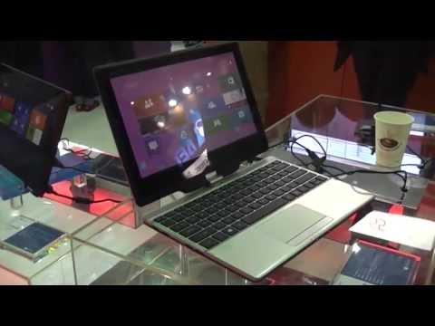 Gigabyte U21M Convertible Haswell Ultrabook Hands On at Computex