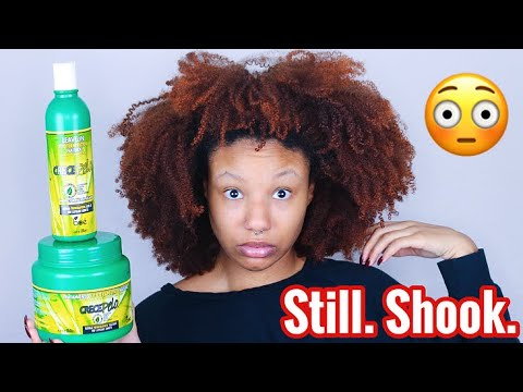 I TRIED HISPANIC HAIR PRODUCTS ON MY NATURAL HAIR
