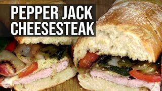 Pork Pepper Jack Cheesesteaks recipe by BBQ Pit Boys